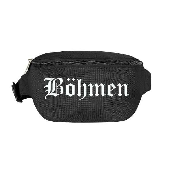 Böhmen Bauchtasche - Altdeutsch bedruckt - Gürteltasche Hipbag