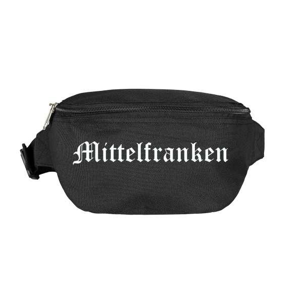 Mittelfranken Bauchtasche - Altdeutsch bedruckt - Gürteltasche Hipbag