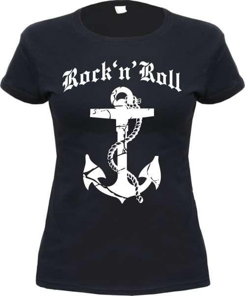 ROCK 'N' ROLL ANKER Damen T-Shirt