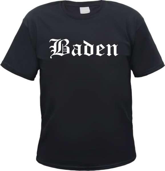Baden Herren T-Shirt - Altdeutsch - Tee Shirt