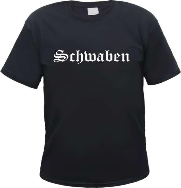 Schwaben Herren T-Shirt - Altdeutsch - Tee Shirt