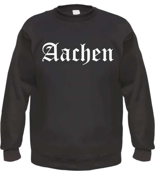 Aachen Sweatshirt - Altdeutsch - bedruckt - Pullover