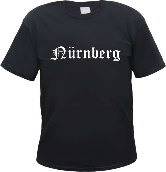 Nürnberg Herren T-Shirt - Altdeutsch - Tee Shirt