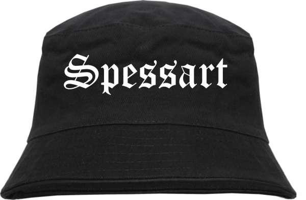 Spessart Fischerhut - Altdeutsch - bedruckt - Bucket Hat Anglerhut Hut