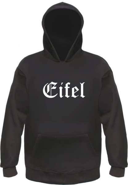 Eifel Kapuzensweatshirt - Altdeutsch - bedruckt - Hoodie Kapuzenpullover