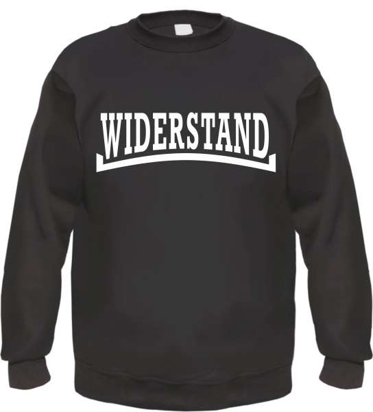 WIDERSTAND Sweatshirt Pullover