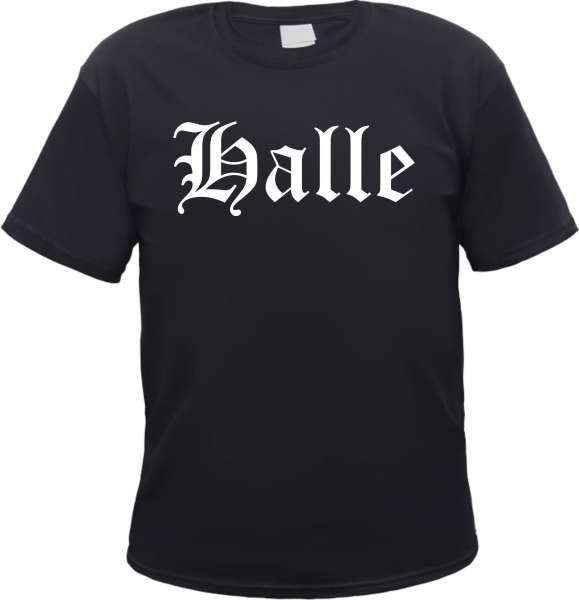 Halle Herren T-Shirt - Altdeutsch - Tee Shirt