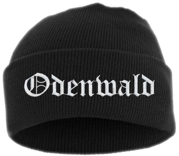 Odenwald Umschlagmütze - Altdeutsch - Bestickt - Mütze mit breitem Umschlag