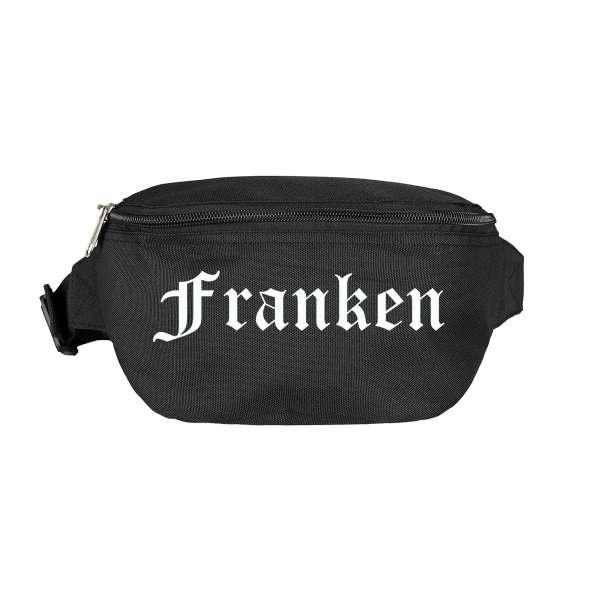Franken Bauchtasche - Altdeutsch bedruckt - Gürteltasche Hipbag