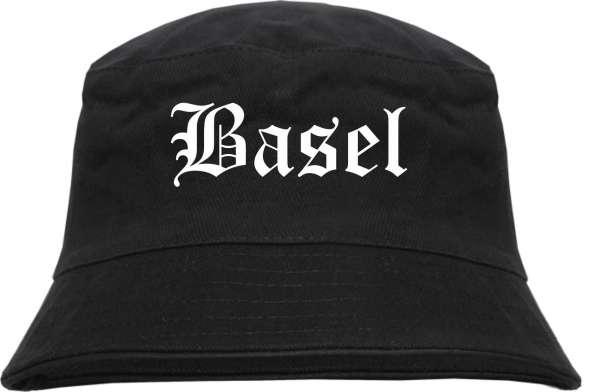 Basel Fischerhut - Altdeutsch - bedruckt - Bucket Hat Anglerhut Hut