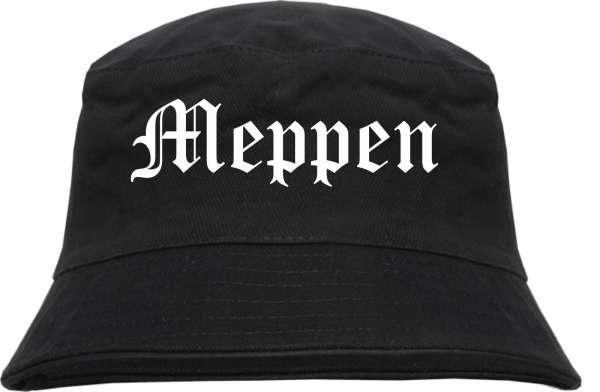 Meppen Fischerhut - Altdeutsch - bedruckt - Bucket Hat Anglerhut Hut