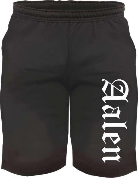 Aalen Sweatshorts - Altdeutsch bedruckt - Kurze Hose Shorts