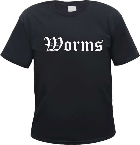 Worms Herren T-Shirt - Altdeutsch - Tee Shirt