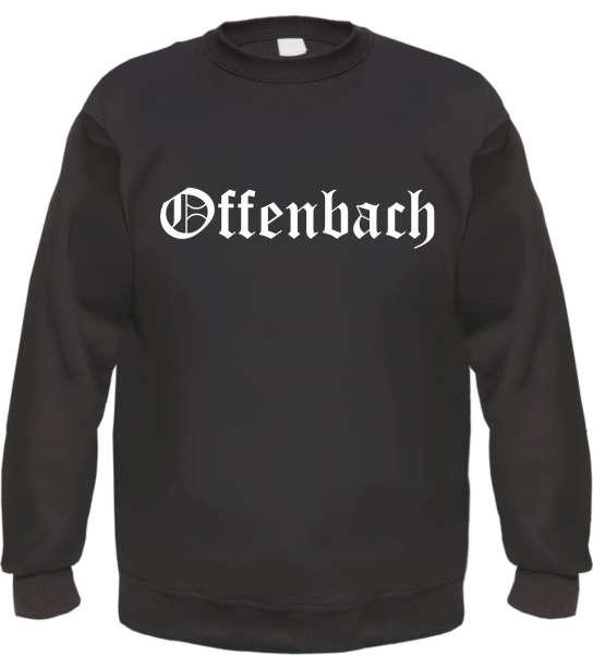 Offenbach Sweatshirt - Altdeutsch - bedruckt - Pullover
