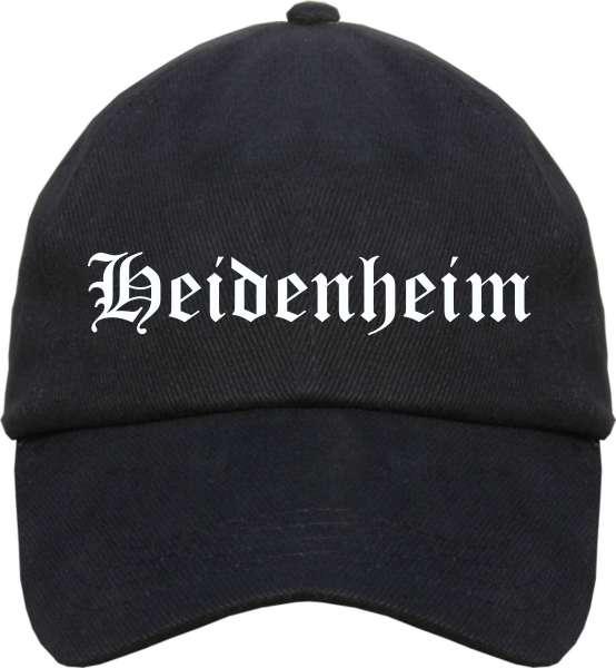 Heidenheim Cappy - Altdeutsch bedruckt - Schirmmütze Cap