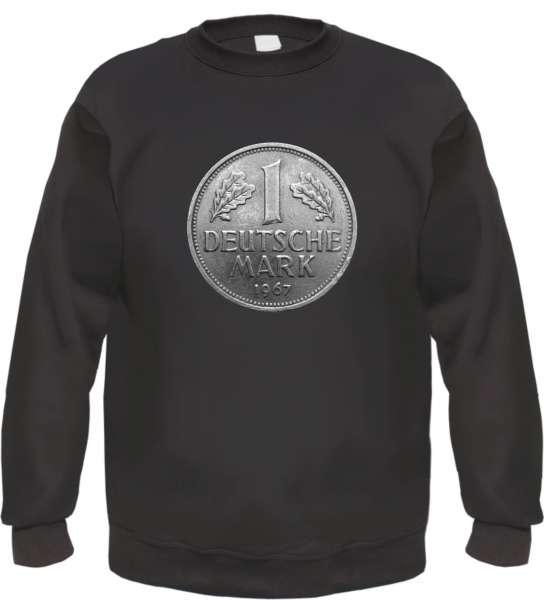 Deutsche Mark Sweatshirt - bedruckt - Pullover