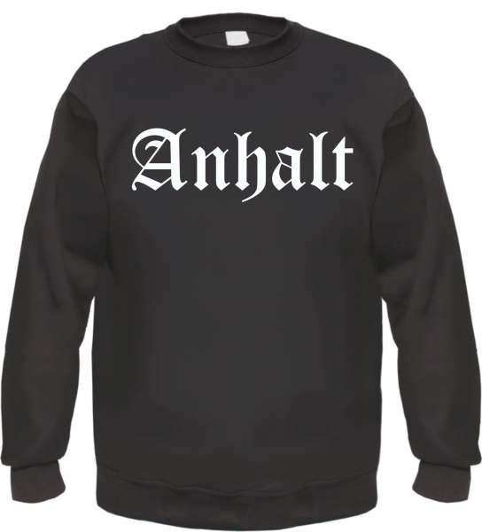Anhalt Sweatshirt - Altdeutsch - bedruckt - Pullover