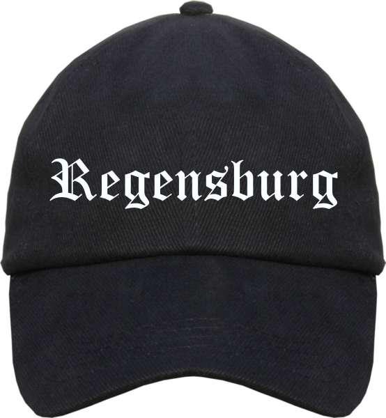 Regensburg Cappy - Altdeutsch bedruckt - Schirmmütze Cap