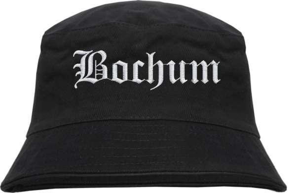 Bochum Fischerhut - Altdeutsch - bestickt - Bucket Hat Anglerhut Hut