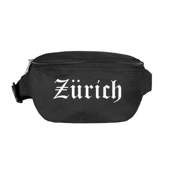 Zürich Bauchtasche - Altdeutsch bedruckt - Gürteltasche Hipbag