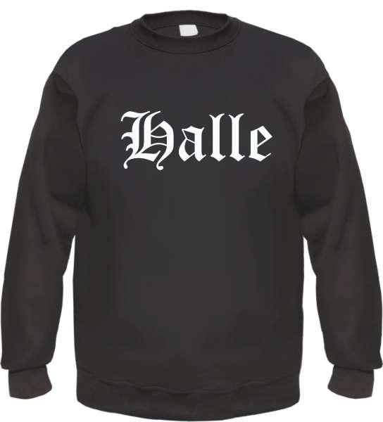 Halle Sweatshirt - Altdeutsch - bedruckt - Pullover