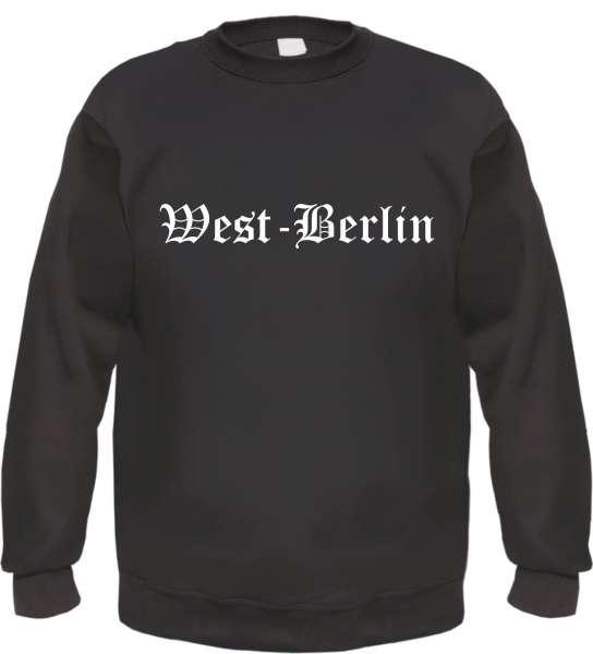 West-Berlin Sweatshirt - Altdeutsch - bedruckt - Pullover
