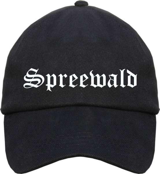 Spreewald Cappy - Altdeutsch bedruckt - Schirmmütze Cap
