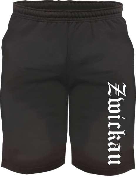 Zwickau Sweatshorts - Altdeutsch bedruckt - Kurze Hose Shorts