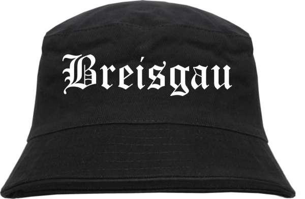 Breisgau Fischerhut - Altdeutsch - bedruckt - Bucket Hat Anglerhut Hut