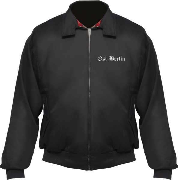 Ost-Berlin Harrington Jacke - Altdeutsch - bestickt - Blouson