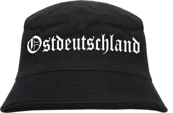Ostdeutschland Fischerhut - Altdeutsch - bedruckt - Bucket Hat Anglerhut Hut