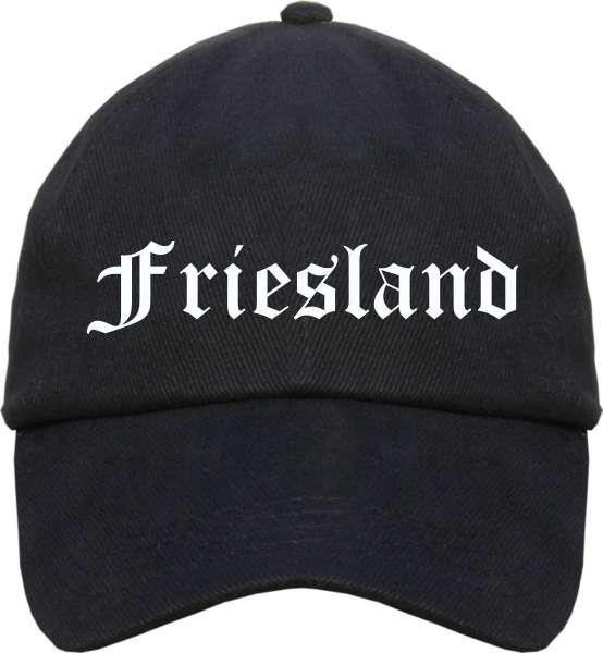 Friesland Cappy - Altdeutsch bedruckt - Schirmmütze Cap