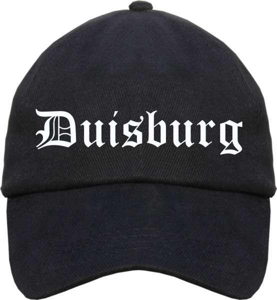Duisburg Cappy - Altdeutsch bedruckt - Schirmmütze Cap