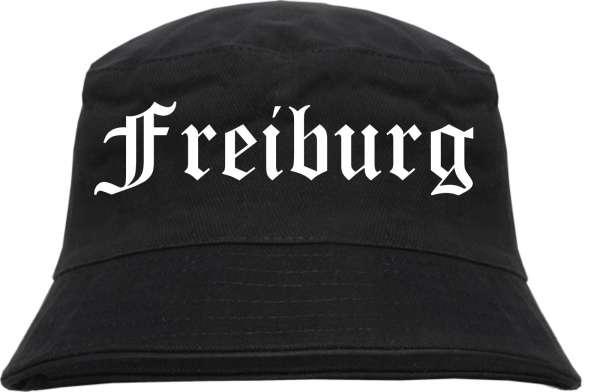 Freiburg Fischerhut - Altdeutsch - bedruckt - Bucket Hat Anglerhut Hut