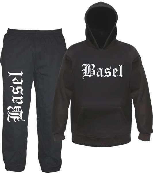 Basel Jogginganzug - Altdeutsch - Jogginghose und Hoodie