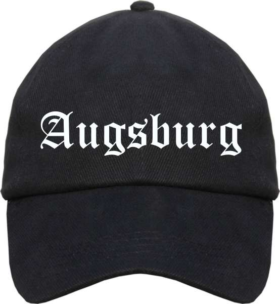 Augsburg Cappy - Altdeutsch bedruckt - Schirmmütze Cap