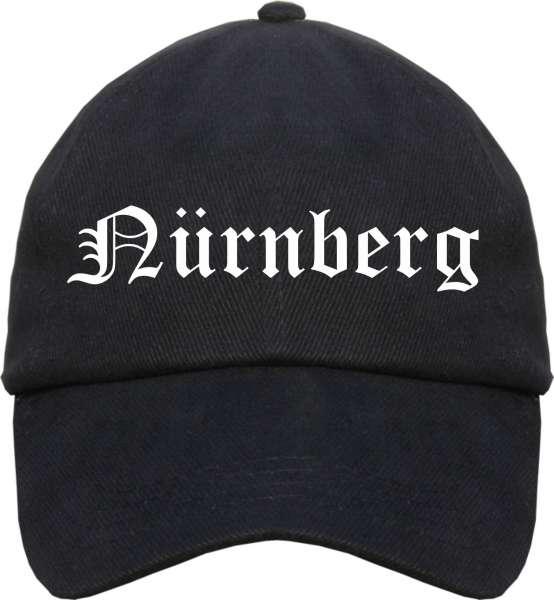 Nürnberg Cappy - Altdeutsch bedruckt - Schirmmütze Cap
