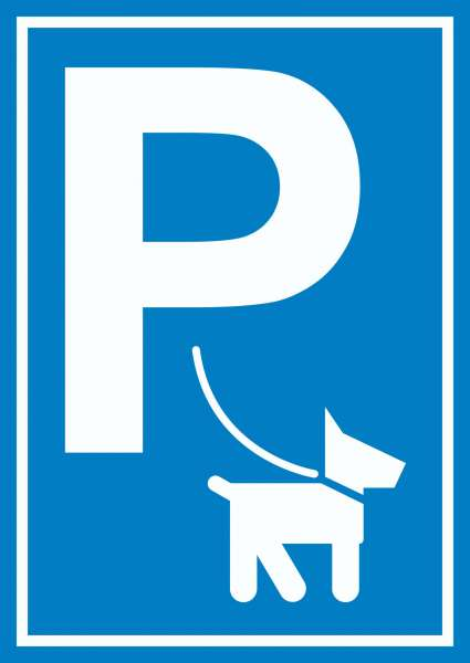 Hundeparkplatz Schild P Hunde