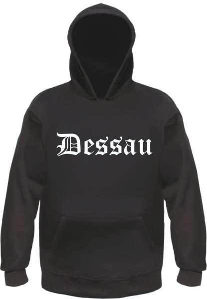 Dessau Kapuzensweatshirt - Altdeutsch bedruckt - Hoodie Kapuzenpullover