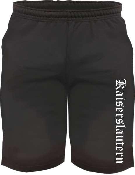 Kaiserslautern Sweatshorts - Altdeutsch bedruckt - Kurze Hose Shorts
