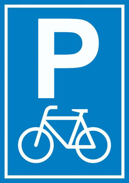 Fahrrad Parkplatz Räder Abstellplatz