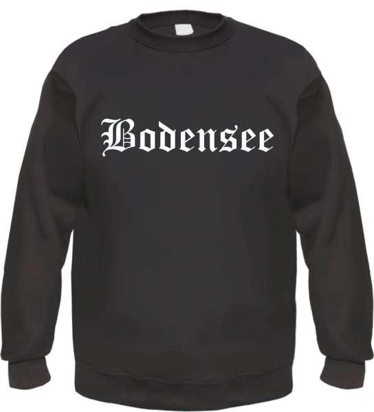 Bodensee Sweatshirt - Altdeutsch - bedruckt - Pullover