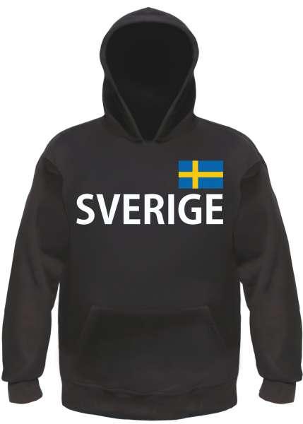Sverige Kapuzensweatshirt - bedruckt - Hoodie Kapuzenpullover