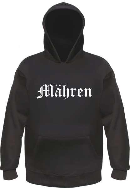 Mähren Kapuzensweatshirt - Altdeutsch - bedruckt - Hoodie Kapuzenpullover