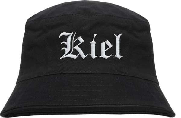 Kiel Fischerhut - Altdeutsch - bestickt - Bucket Hat Anglerhut Hut