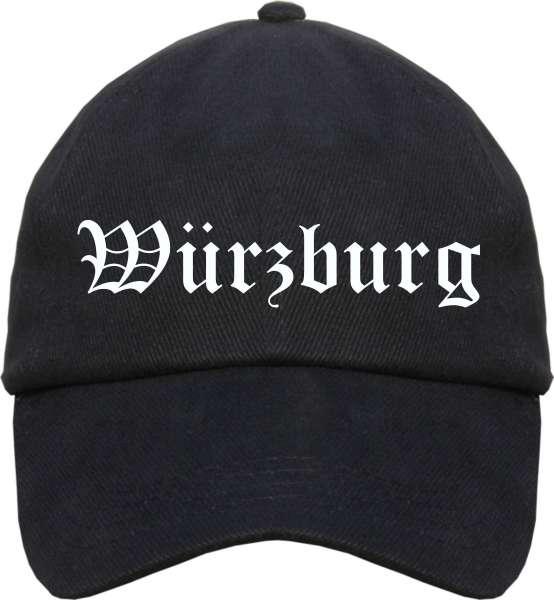 Würzburg Cappy - Altdeutsch bedruckt - Schirmmütze Cap