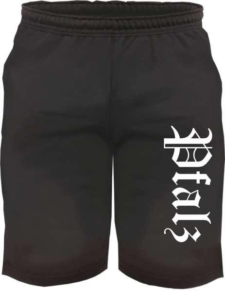 Pfalz Sweatshorts - Altdeutsch bedruckt - Kurze Hose Shorts