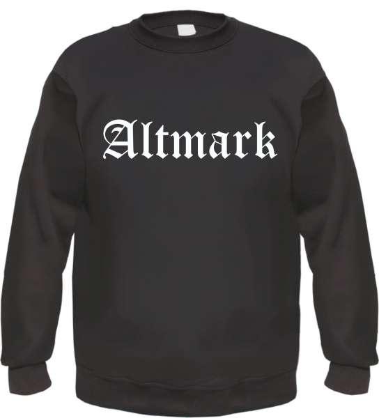 Altmark Sweatshirt - Altdeutsch - bedruckt - Pullover