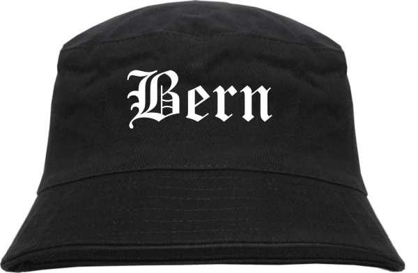 Bern Fischerhut - Altdeutsch - bedruckt - Bucket Hat Anglerhut Hut