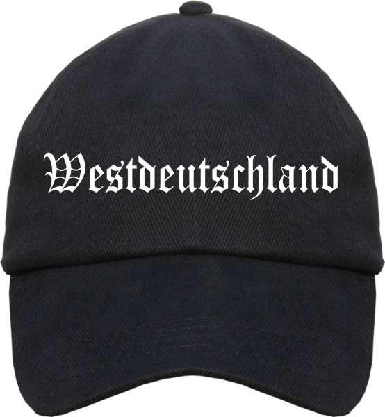 Westdeutschland Cappy - Altdeutsch bedruckt - Schirmmütze Cap